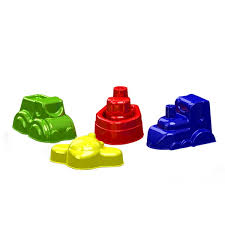 Набор формочек для песка Транспорт (Пластмастер)