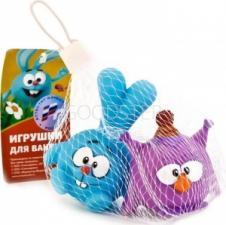 Набор резиновых игрушек Смешарики Крош и Совунья