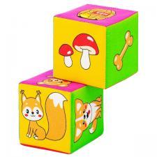 Кубики Кто что ест Мякиши