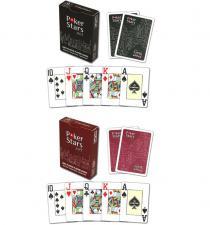 Карты Pokerstars 54шт. пластиковые в ассортименте