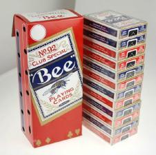 """Карты игральные """"Bee"""" 54 (картон)"""