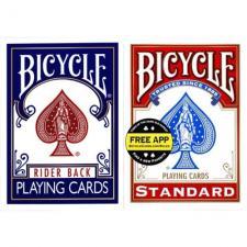 """Карты игральные """"Bicycle"""" 54 (картон )"""