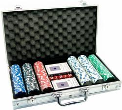 Набор для игры в покер. Алюминиевый кейс