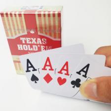 """Карты игральные """"Texas"""" (пластик)"""