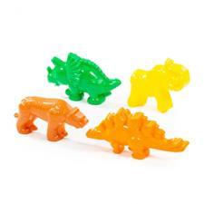 Формочки (тигр + мамонт + динозавр+ динозавр )