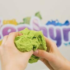 ZEPHYR Зефир кинетический пластилин зеленый 150 гр