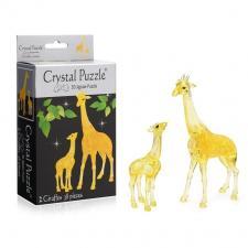 Crystal Puzzle Два жирафа 3Д пазл