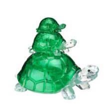 Crystal Puzzle Черепашки 3Д пазл