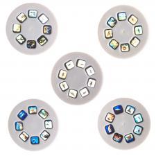 Диапроектор-фонарик Bondibon 6 дисков (3 с жив., 3 с дино) со слайдами