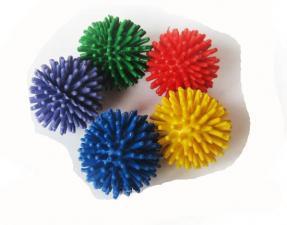 Набор игольчатых шариков мячей массажных