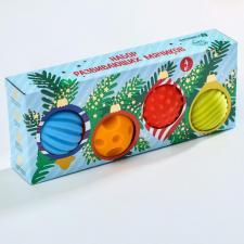 Развивающие мячики Елка с игрушками
