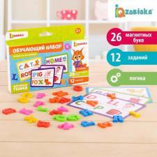 Читаем по-английски с магнитными пластиковыми буквами Забияка