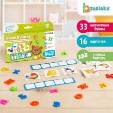 Составь слово магнитные буквы с карточками Забияка