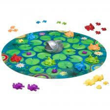 Умные лягушки логическая игра Bondibon