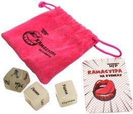 Настольная игра Камасутра на кубиках
