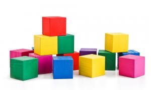 Цветные кубики Томик 30 шт.