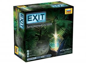 Настольная игра Exit Квест Затерянный остров