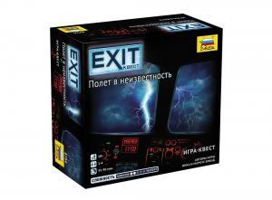 Настольная игра Exit Квест Полёт в неизвестность