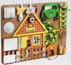 Бизиборд  Загородный дом BusyBoard