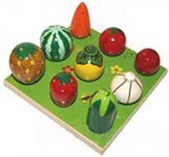 Плоды на грядке (3х3)