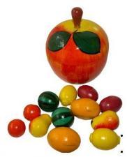 Яблоко-укладка + набор фруктов