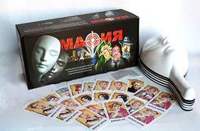 Настольная игра Мафия с масками